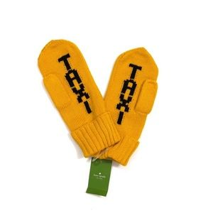 ♠️ Kate Spade Taxi Mittens